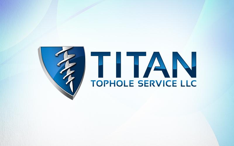 Titan 3D Logo Design