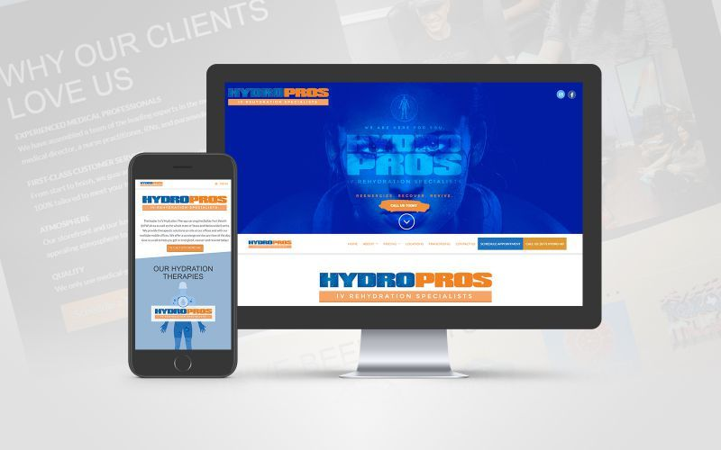 HydroPros Website Design