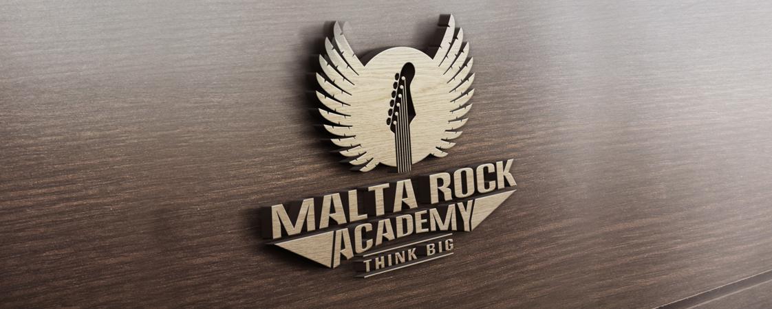 Malta Rock Academy Logo Design