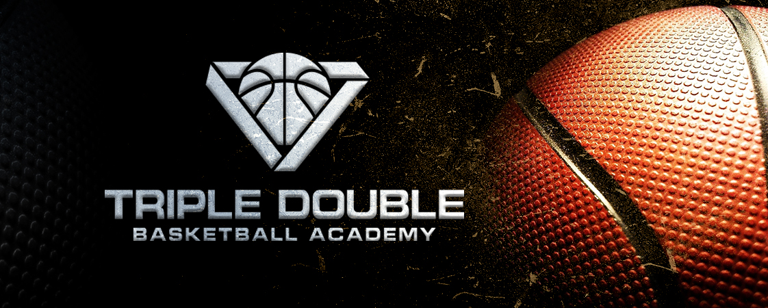 Triple Double Basketball Academy Logo Design