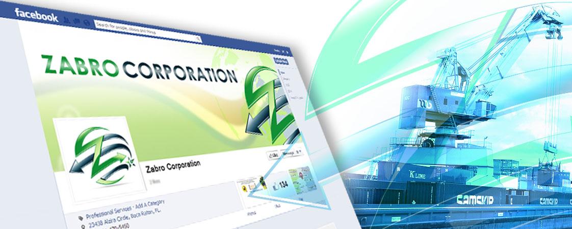 Zabro Corporation Social Media Design