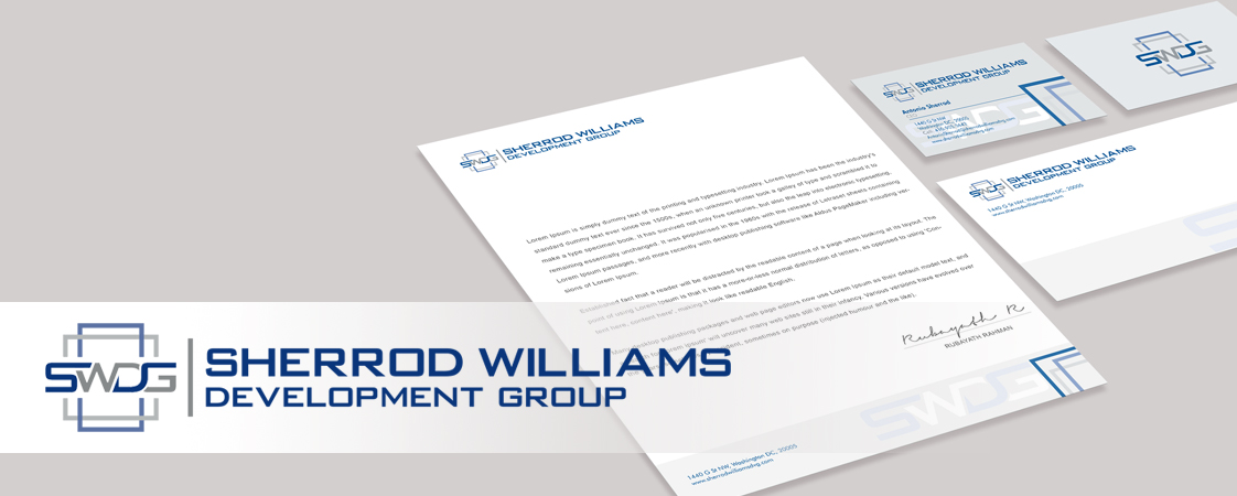 Sherrod Williams Stationery Design